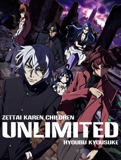 Zettai Karen Children: The Unlimited - Hyoubu Kyousuke Best Selection