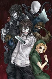 All creepypasta and creepypasta family
