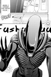 ALIEN MANGA: THE UNINVITED GUES